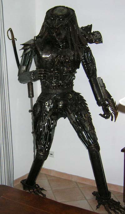 Predator Full Sized Statue